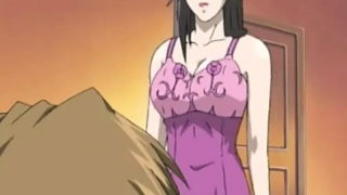 Interesting Brown-haired Anime Porn Vixen With Yam-sized Melons Toying Together With Her Beau