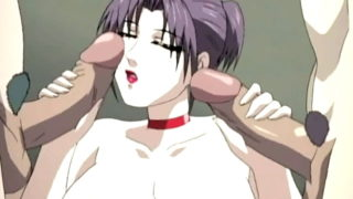 Huge-titted Manga Porn Gal Attire Up Insane And Will Get Pummeled Within The Public Restroom