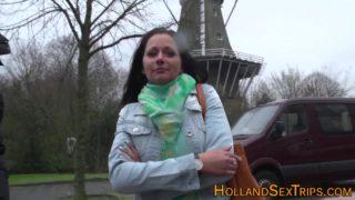 Dutch Slut Licking Vagina