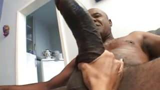 Blond With Diminutive Mounds Suffers A Ample Ebony Hard-on In Her Culo