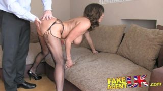 Fakeagentuk Super-fucking-hot Chilean Cougar Will Get Hard-core Rectal Activity