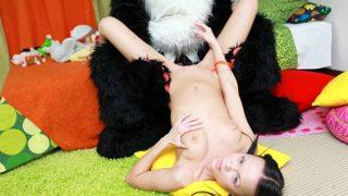 Spunky Fuck-fest With A Fucktoy Panda
