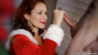 Xxxmas Deep Throat From Santas Helper