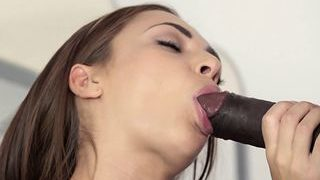 Puny Stunner Rails Big Black Cock