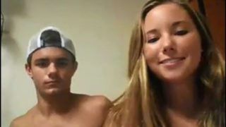 Super Hot Duo On Web Cam